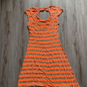 Haani Dresses - Bright striped dress